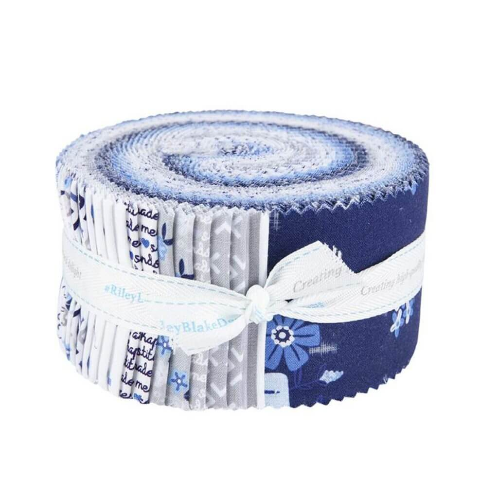 Blue Stitch Fabric Strip Pack available at Nancy Zieman Productions at ShopNZP.com