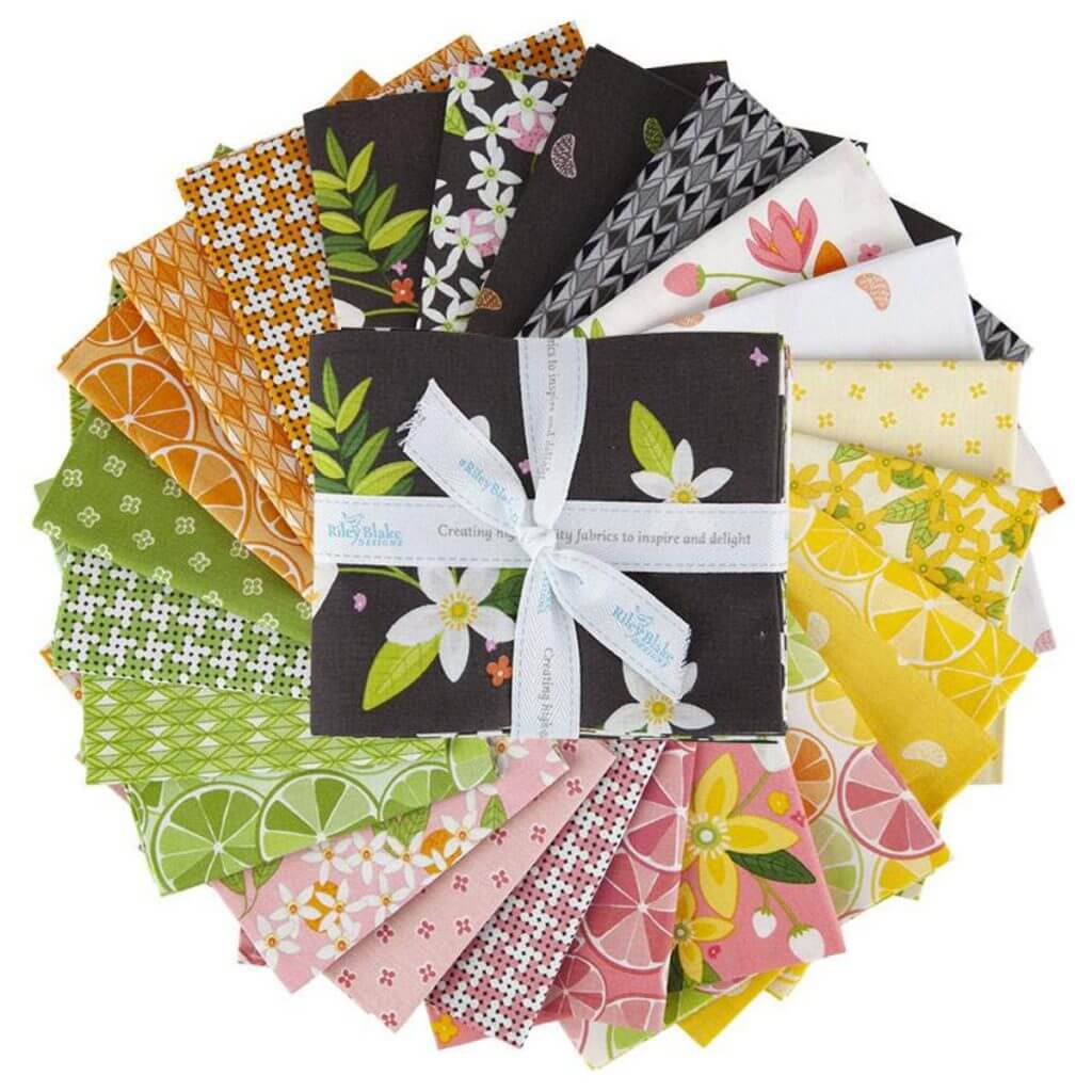 Grove Fabric Fat Quarter Bundle available at Nancy Zieman Productions at ShopNZP.com