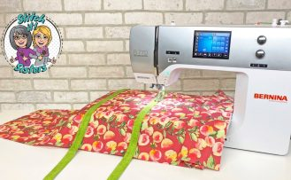 S!S 204 Sew Organized Utility Tote Sewing Tutorial Video by the Stitch it Sisters at The Nancy Zieman Productions Blog
