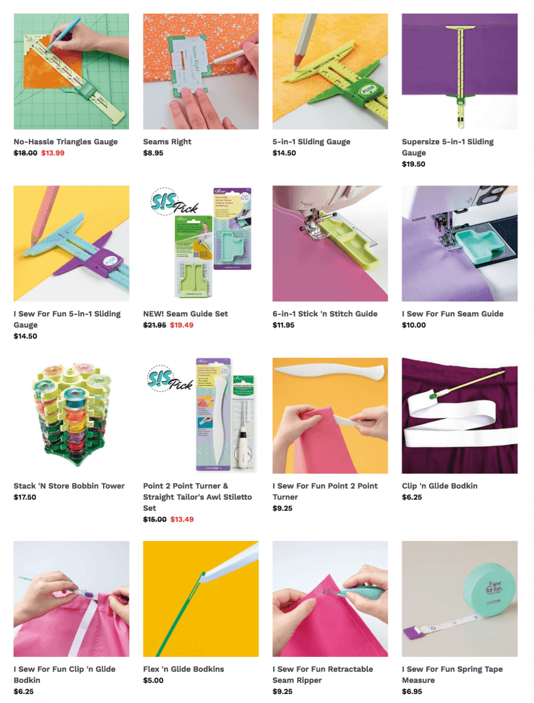 Shop Nancy Zieman Sewing Notions and Sewing Tools at Nancy Zieman Productions at ShopNZP.com