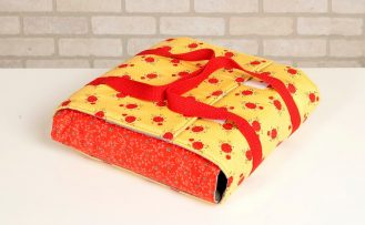 NEW! Wrap it Up! Casserole Carrier Sewing Tutorial at The Nancy Zieman Productions Blog