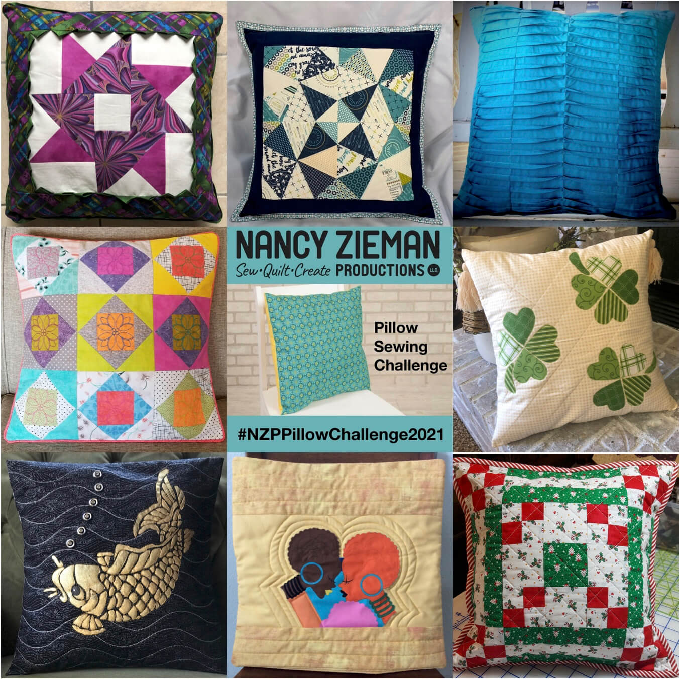 2021 Pillow Sewing Challenge A