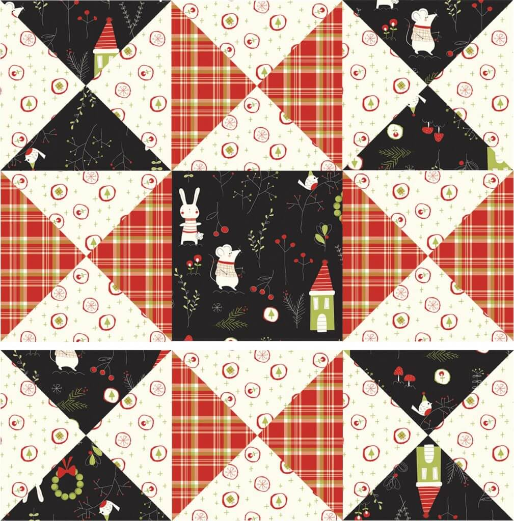 March 2021 NZP Block of the Month: Bow Ties Sewing Tutorial at the Nancy Zieman Productions Blog