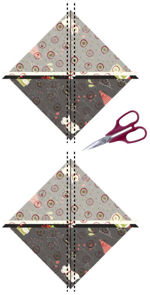 March 2021 NZP Block of the Month: Bow Ties Quilt Block Tutorial available at the Nancy Zieman Productions Blog