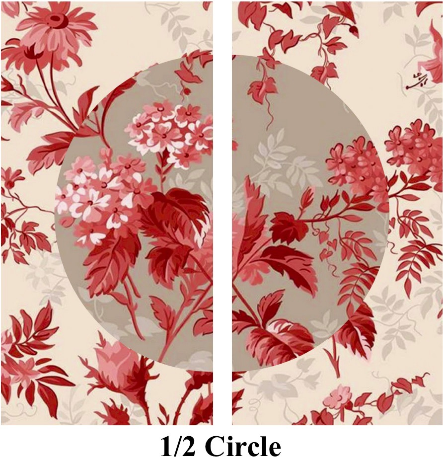 FREE! Half-Circle Quilt Block Sewing Tutorial at the Nancy Zieman Productions Blog