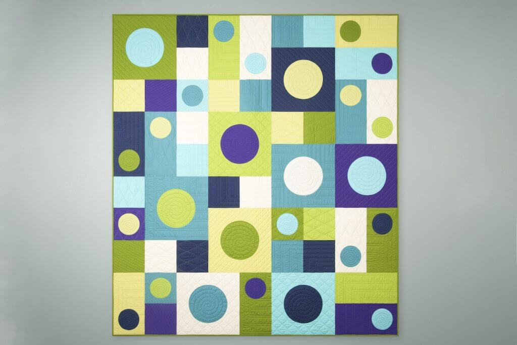 I See Spots Quilt Sewing Tutorial Video by the Stitch it Sisters at The Nancy Zieman Productions Blog