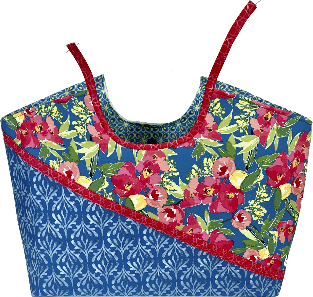 NEW! Stitch it! Sisters Colorblocked Shoulder Bag Tutorial at the Nancy Zieman Productions Blog