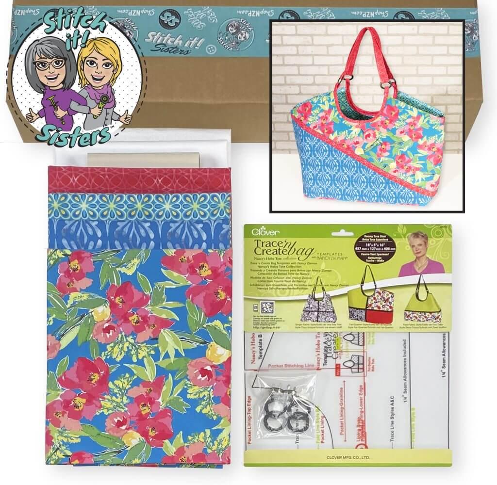 NEW! Exclusive Colorblocked Shoulder Bag Bundle Box available at Nancy Zieman Productions at ShopNZP.com