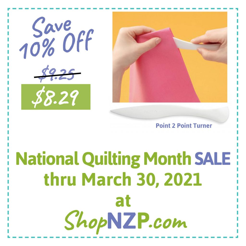 Save 10% Off Point 2 Point Turner at ShopNZP.com thru March 30, 2021