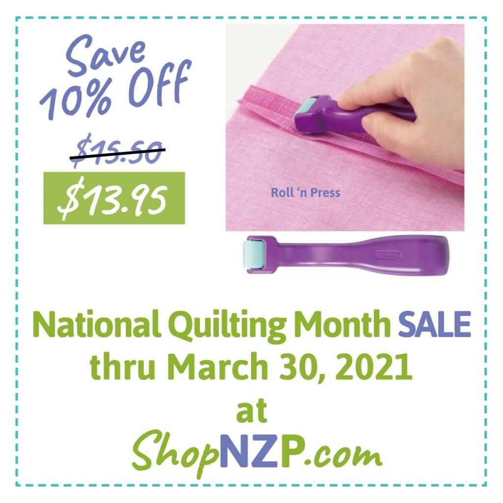 Save 10% Off Roll 'n Press at ShopNZP.com thru March 30, 2021