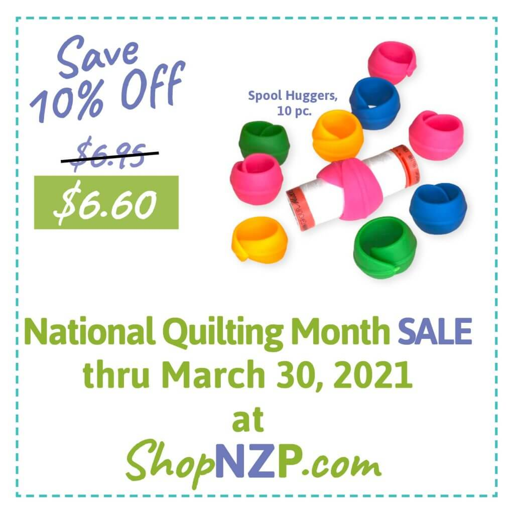 Save 10% Off Spool Huggers, 10 pc. at ShopNZP.com thru March 30, 2021
