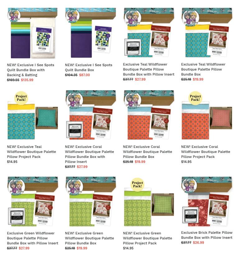 Exclusive Bundle Boxes available at Nancy Zieman Productions at ShopNZP.com