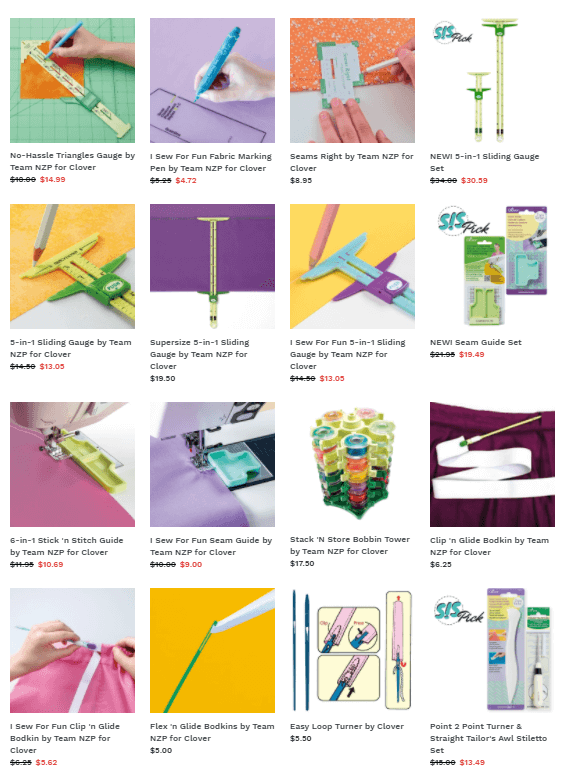 Notions & Tools available at Nancy Zieman Productions at ShopNZP.com