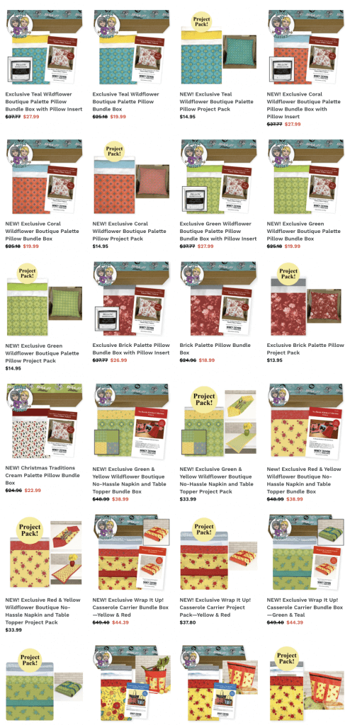 Shop Exclusive Sewing Project Kits, Quilting Project Kits and Stitch it! Sisters Project Bundle Boxes at Nancy Zieman Productions at ShopNZP.com