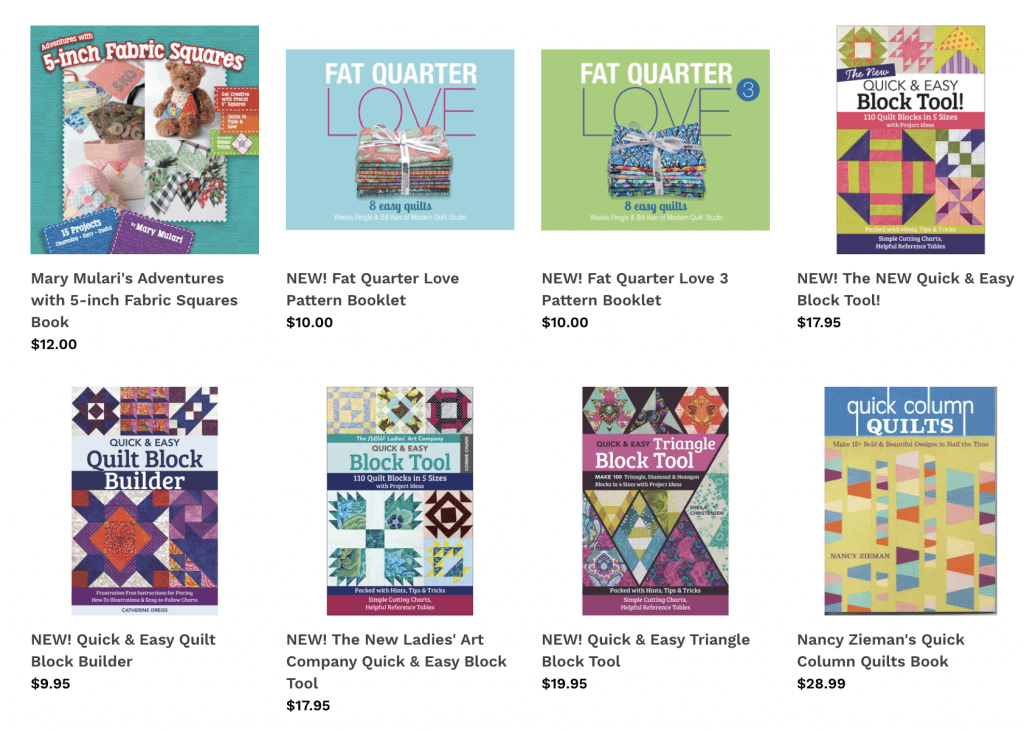 Shop Quilting Books and Quilting Precuts Books at Nancy Zieman Productions at ShopNZP.com