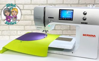 Stitch it Sisters I See Spots Circle Quilt Tutorial Video Program 206 made with Bernina 770 by Nancy Zieman Productions at The Nancy Zieman Productions Blog