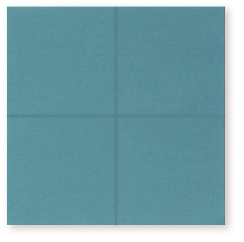 Unfold fabric square 1
