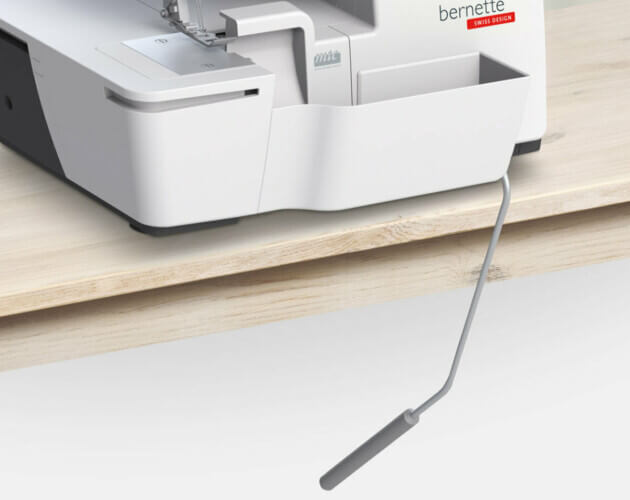 NEW! Bernette b64 AIRLOCK Serger Overlock Sewing Machine Now available at Nancy Zieman Productions at ShopNZP.com