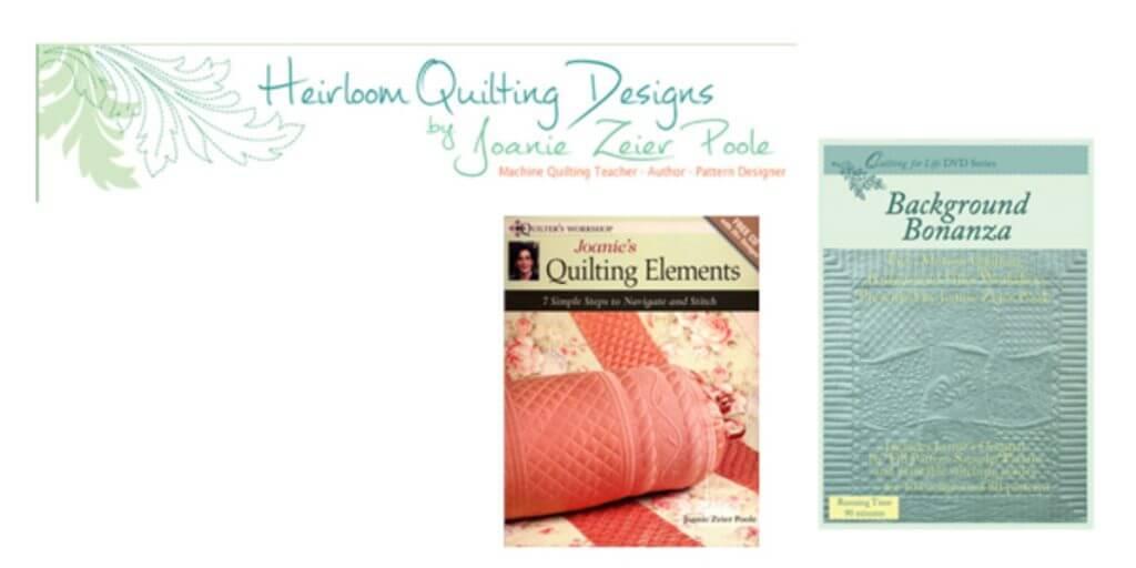 Heriloom Quilting Designs by Joanie Zeier Poole