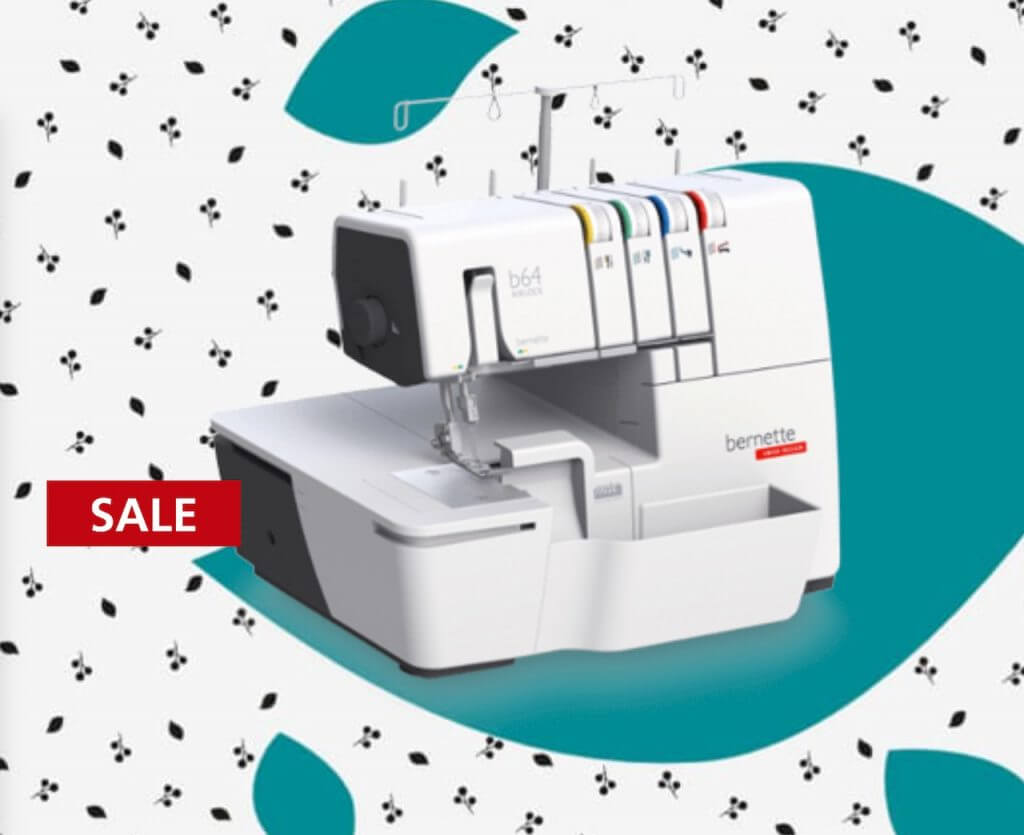Bernette b64 AIRLOCK Overlocker Serger on Sale at Nancy Zieman Productions at ShopNZP.com