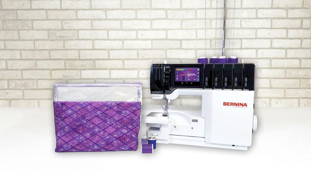 New! Stitch it! Sisters Serger Techniques Pouch Sewing Tutorial at the Nancy Zieman Producitons Blog