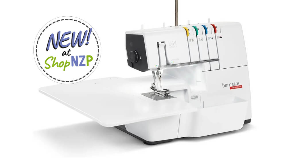 New at ShopNZP.com bernette b64 Serger Overlocker 1