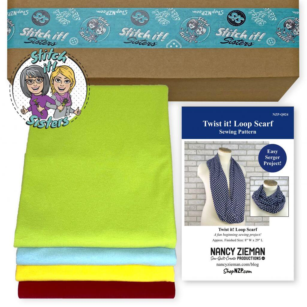 NEW! Exclusive Twist it! Loop Scarf Bundle Boxes available at Nancy Zieman Productions ShopNZP.com