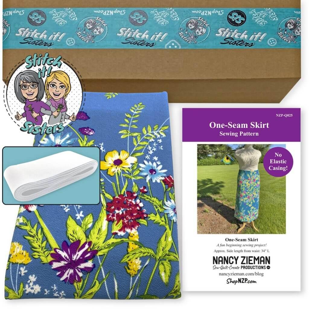 One-Seam Skirt Bundle Box available at Nancy Zieman Productions at ShopNZP.com