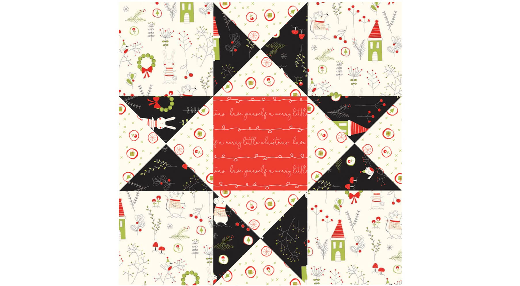 April 2021 NZP Block of the Month: Ohio Star Quilt Block Tutorial available at the Nancy Zieman Productions Blog