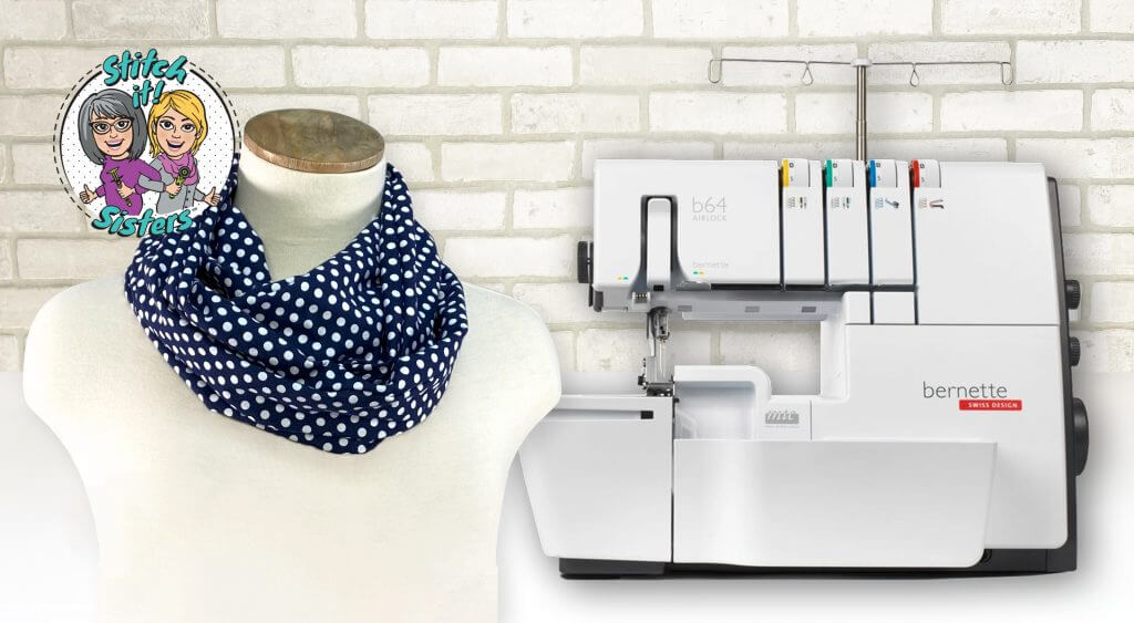 NEW! Stitch it! Sisters Twist it! Loop Scarf Sewing Tutorial at the Nancy Zieman Productions Blog