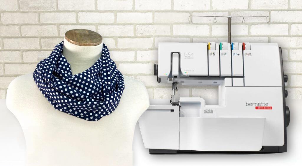 NEW! Stitch it! Sisters Twist it! Loop Scarf Sewing Tutorial