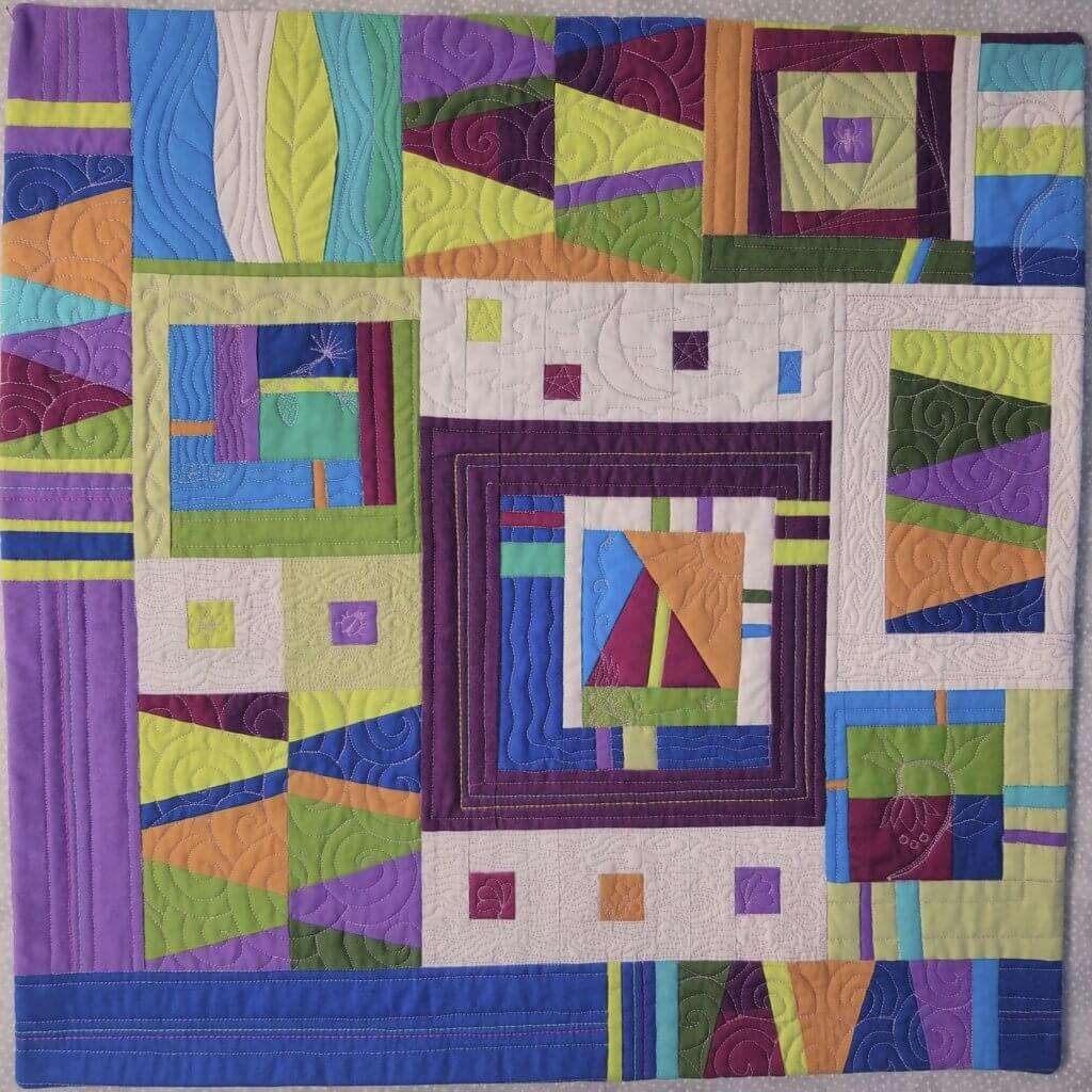 The Great Wisconsin Quilt Show Modern Mini Quilt Challenge