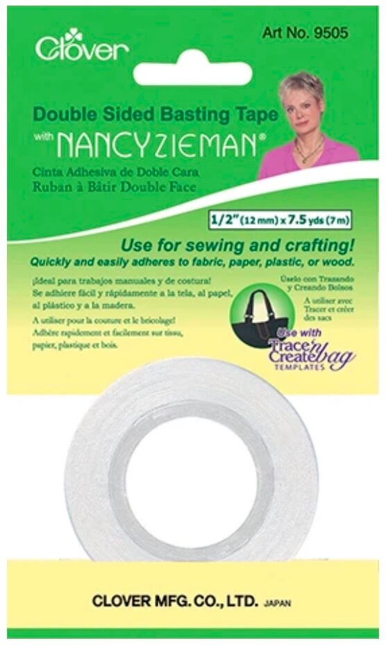 Clover's Double Sided Basting Tape available at Nancy Zieman Productions ShopNZP.com
