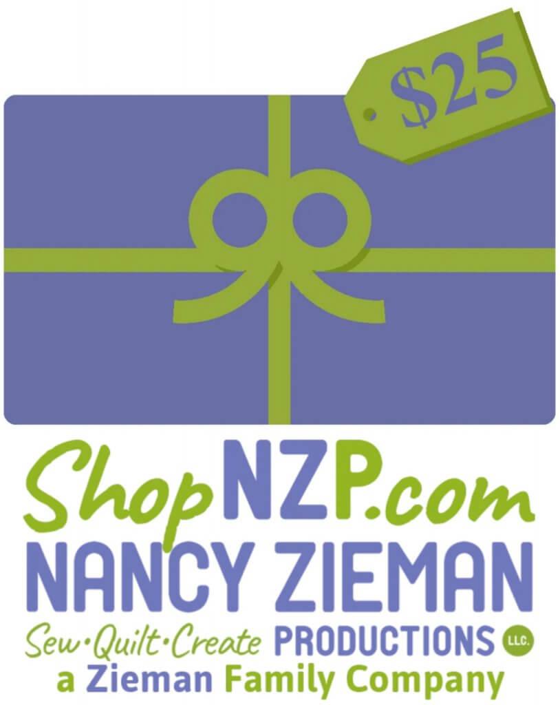 Nancy Zieman Productions ShopNZP.com Electronic Gift Card