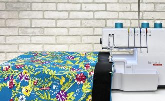 Stitch it! Sisters One-Seam Skirt Sewing Tutorial Video at The Nancy Zieman Productions Blog Feature Image