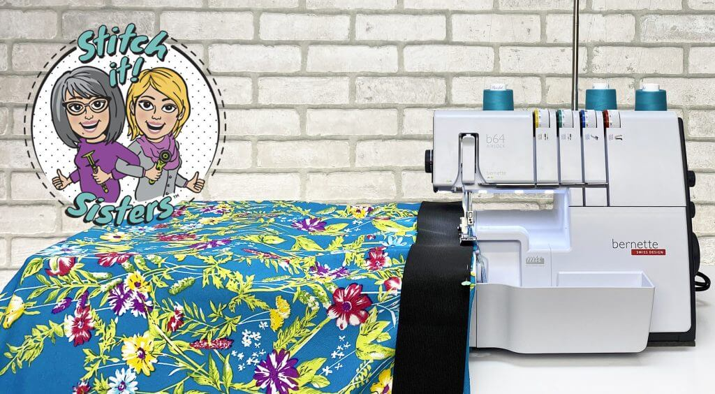 Stitch it! Sisters One-Seam Skirt Sewing Tutorial Video at The Nancy Zieman Productions Blog