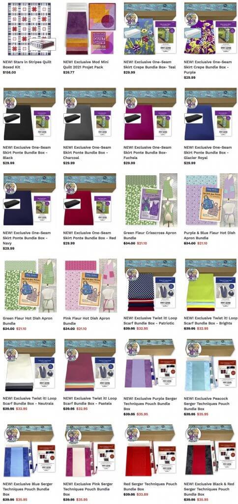 Bundle Boxes Available at Nancy Zieman Productions ShopNZP.com
