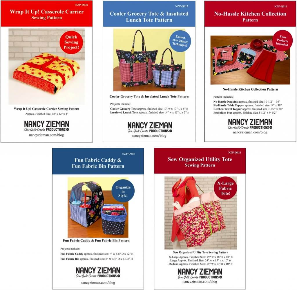 Exclusive Stitch it! Sisters Sewing Patterns