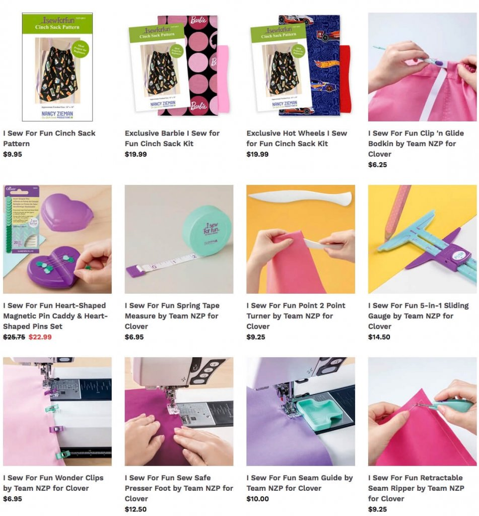 I Sew for Fun Sewing Tools and More at Nancy Zieman Productions at ShopNZP.com