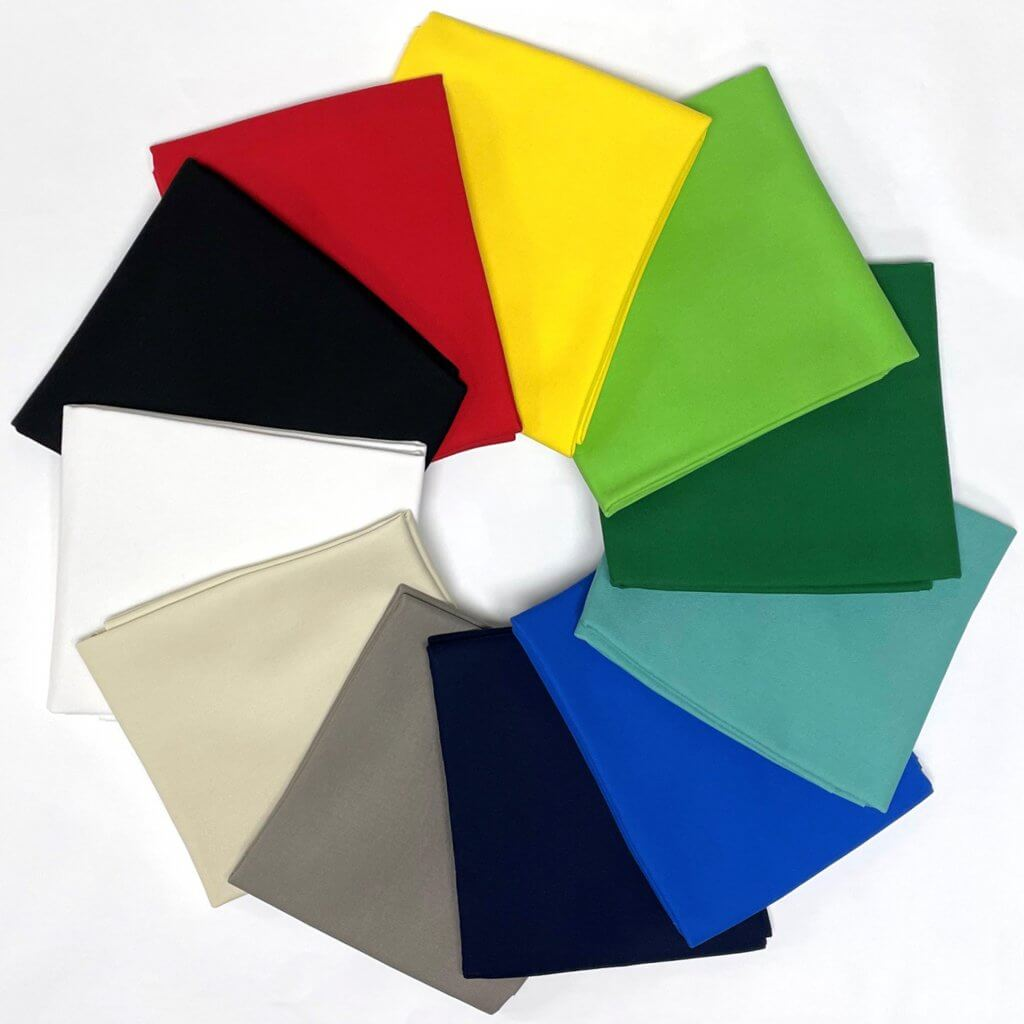 NEW Cotton Canvas Fabric Colors Now Available at Nancy Zieman Productions at ShopNZP.com