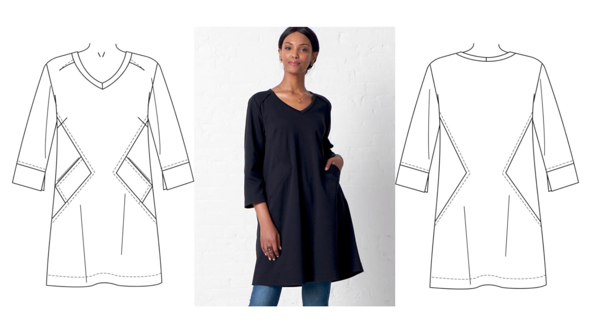 NEW! Stitch it! Sisters Dress Pattern Fitting Tutorial - the Nancy Zieman Way