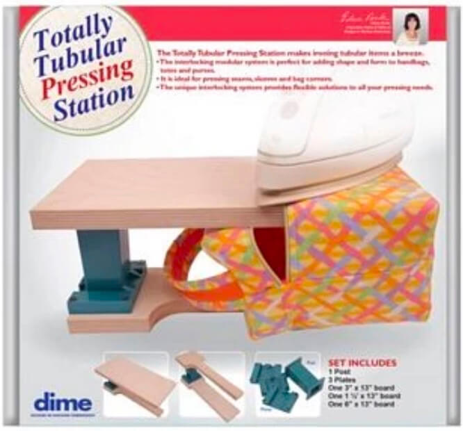 NEW! Totally Tubular Pressing Station by dime Available at Nancy Zieman Productions ShopNZP.com