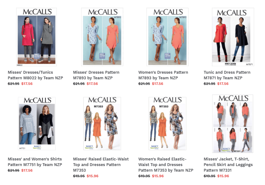 Sew A Dress – The Nancy Zieman Way Bundle Boxes at ShopNZP.com!