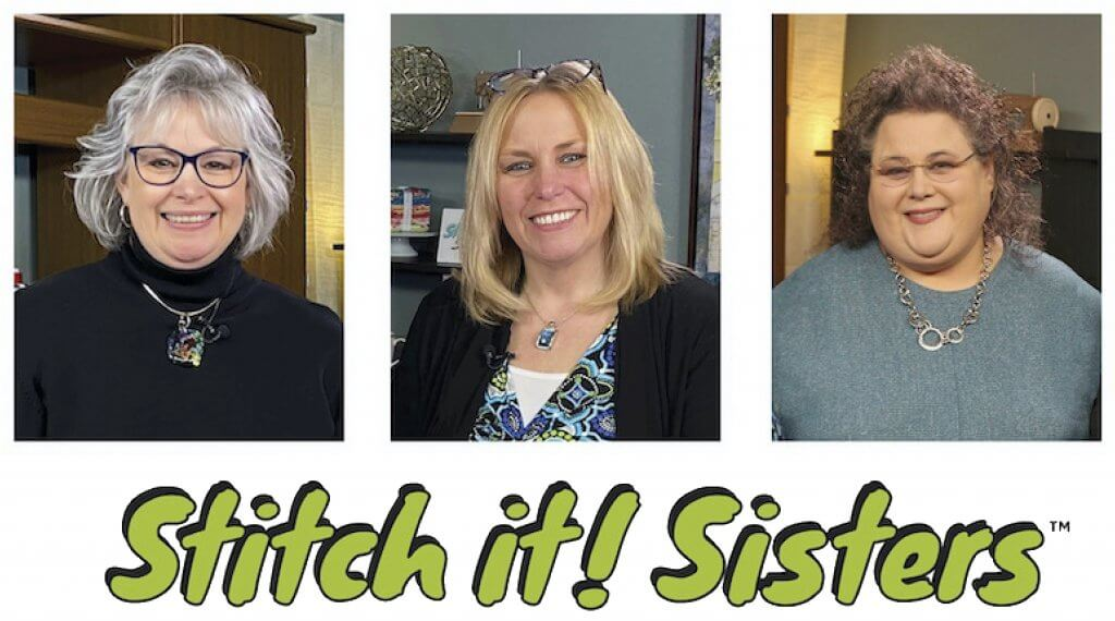Join the Stitch it! Sisters at Nancy Zieman Productions for Facebook Facebook Live at facebook.com/NancyZieman