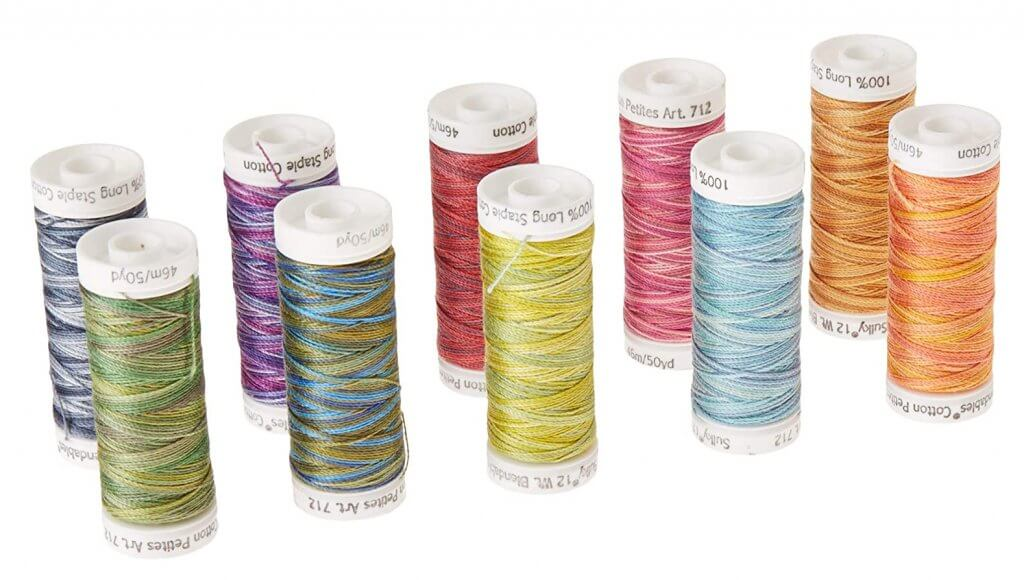 Sulky 12 Wt Thread Available at Nancy Zieman Productions at ShopNZP.com
