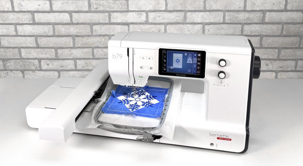 bernette b79 Sewing and Embroidery Machine Available at Nancy Zieman Productions at ShopNZP.com