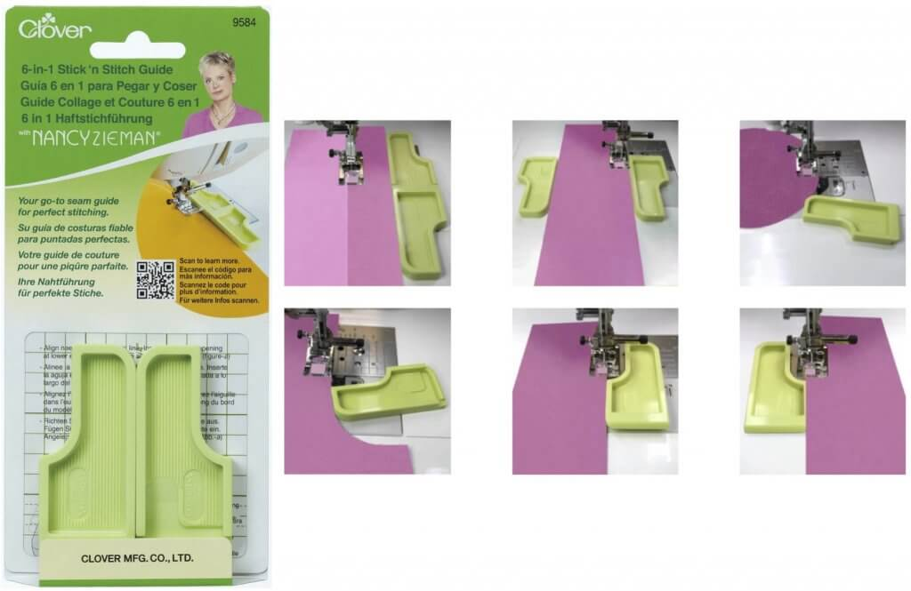 Clover's 6-in-1 Stick 'n Stitch Guide Available at Nancy Zieman Productions at ShopNZP.com