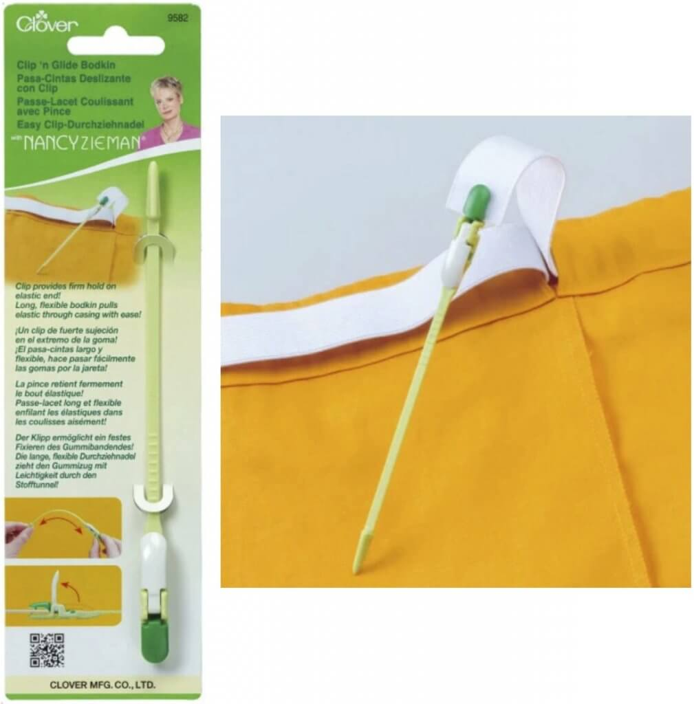 Clover's Clip 'n Glide Bodkin Available at Nancy Zieman Productions at ShopNZP.com