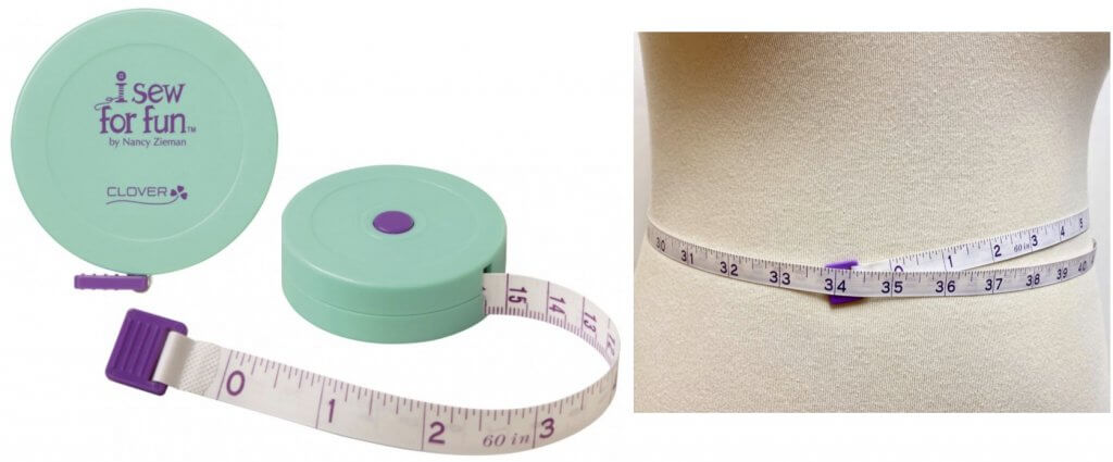 Clover's I Sew For Fun Spring Tape Measure Available at Nancy Zieman Productions at ShopNZP.com