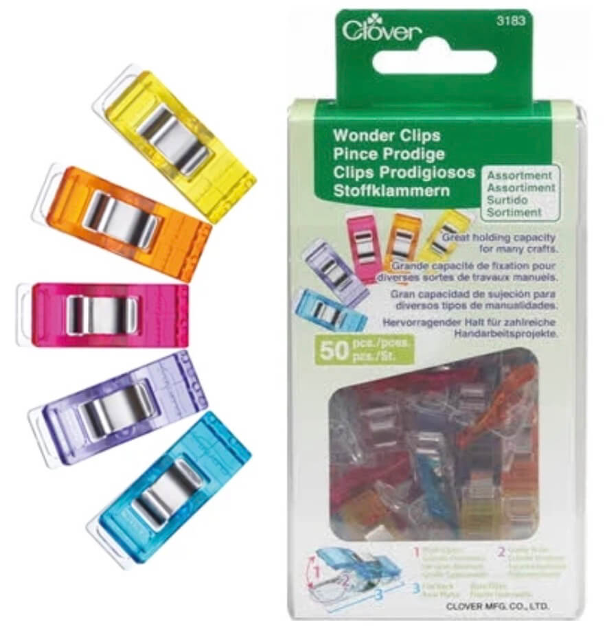 Clover's Rainbow Wonder Clips Available at Nancy Zieman Productions at ShopNZP.com